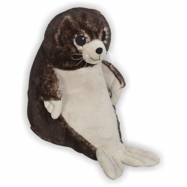 weicher Seelöwe mit großen Babyaugen und süßem Lächeln