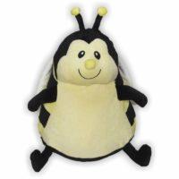 Kuschelige Biene mit süßer Stupsnase