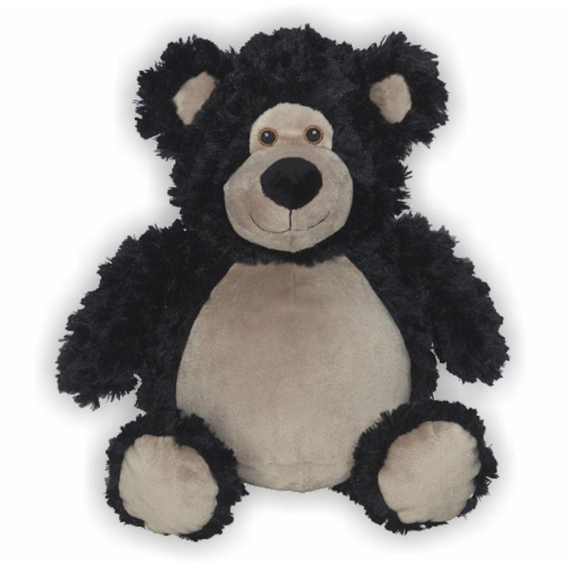 Schmusebuddy Bär Bobby schwarz 41cm