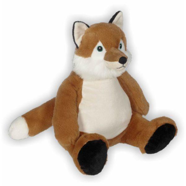 Mit seiner flauschigen Schnauze, den frechen Ohren, dem durchdringenden grünen Augen und dem buschigem Schwanz ist Frank ein fabelhafter Fuchs zum schmusen