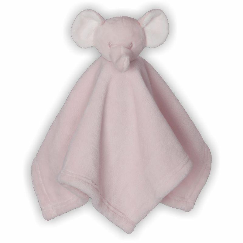 Schmusebuddy Schnuffeltuch Elefant mini rosa