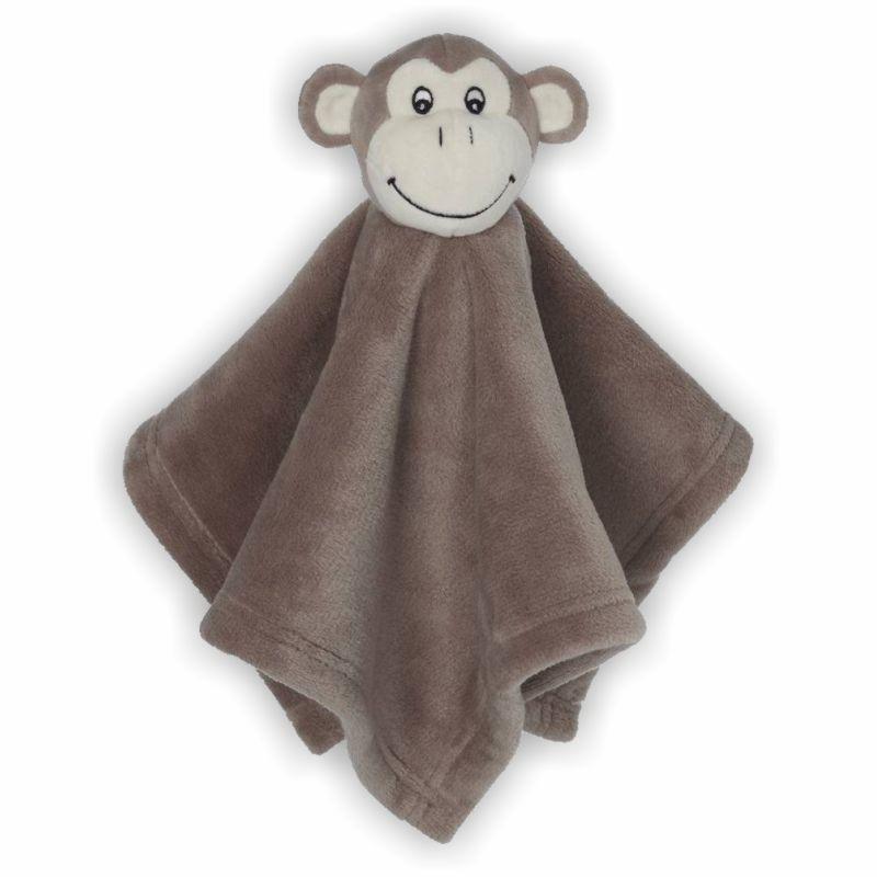 Schmusebuddy Schnuffeltuch Affe mini