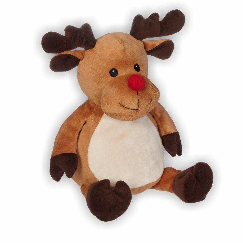 Das Rentier mit der roten Nase verzaubert zu Weihnachten alle!