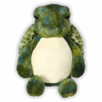 Die Schildkröte Svenja ist mit ihrem kuscheligen Panzer ideal zum schmusen