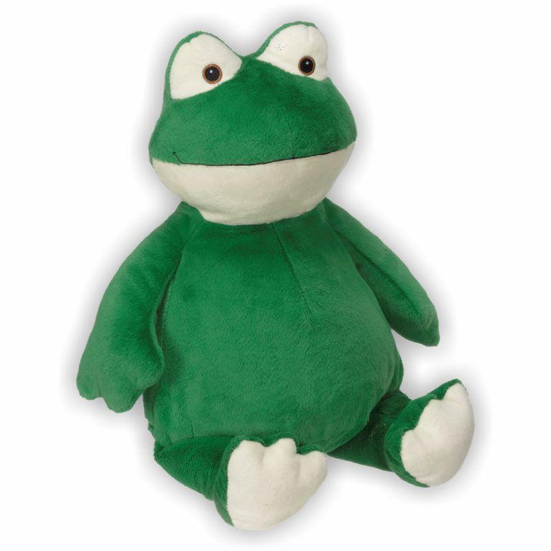 Kleiner frecher Frosch mit süßem Gesicht
