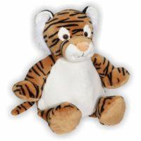 Putziger kleiner Tiger mit großen Tatzen