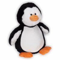 Der kleine flauschige Pinguin watschelt mit seinem süßen Aussehen direkt in alle Herzen