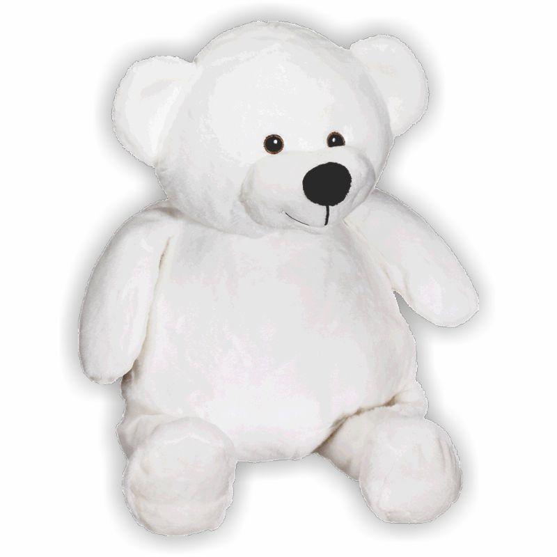 Schmusebuddy Bär Benjamin weiß 41cm